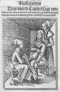 Eucharius_Rößlin_Rosgarten_Childbirth